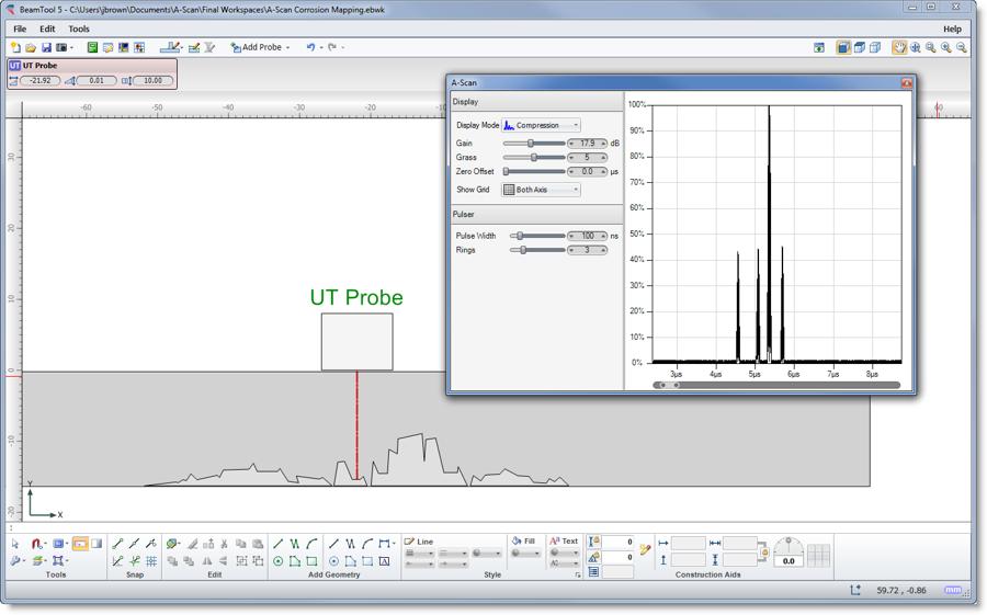 Simulation Corrosion Mapping