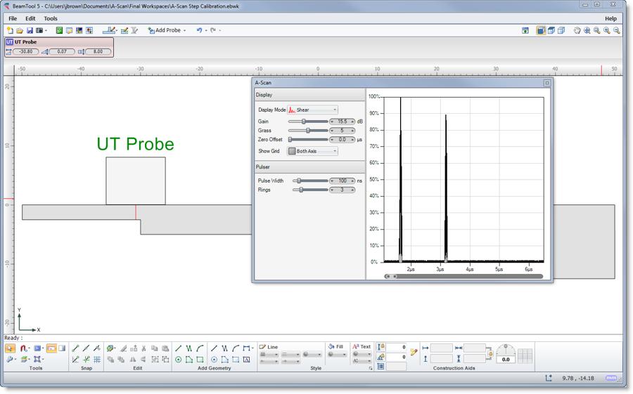 Simulation Step Calibration