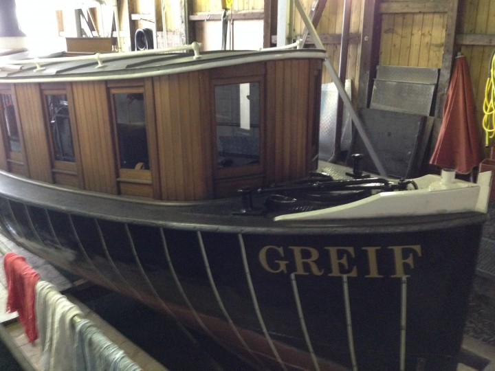 Steamboat GREIF inspected with AMPLECTOR Instrument Manager