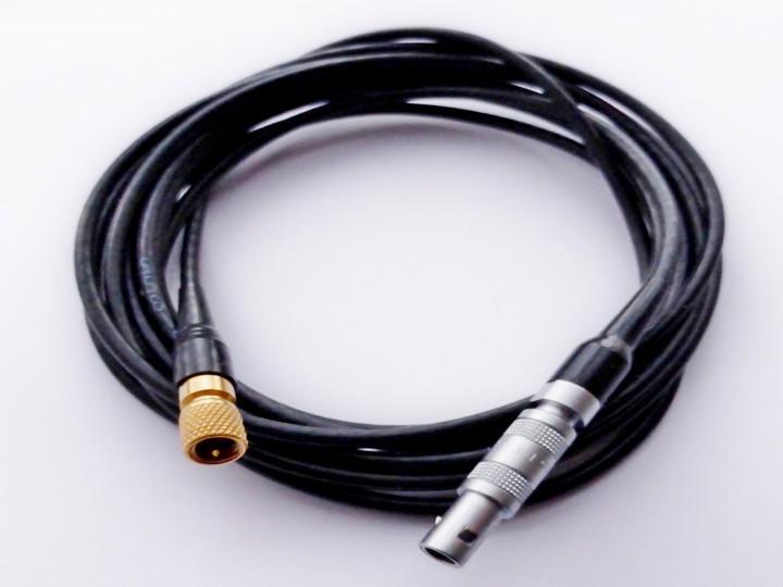 Koaxial Prüfkopfkabel LEMO 00 - Microdot